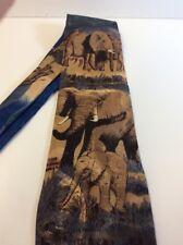 Lost Kingdom Elephants Mens Tie