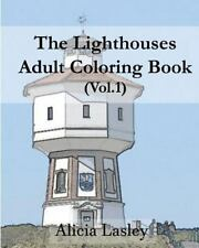 Lighthouses Adult Coloring Book : Lighthouse Sketches for Coloring, Paperback.