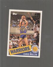 CHRIS MULLIN Topps First ROOKIE card! Golden State WARRIORS  NBA Rc MINT