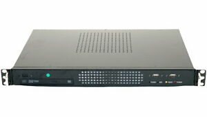 "MSI MS-9899 Core i7 2620M @ 2,7GHz 8GB 240GB SSD Mini ITX PC im 19"" Gehäuse"