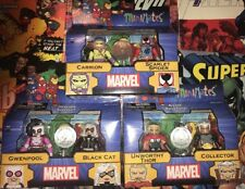 Set Of 3 Marvel Minimates Toys R Us Exclusive Thor Collector Gwenpool Spider-Man