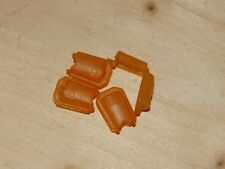 Loch 4mm 11232 2 Kordelstopper gelb 20x15mm