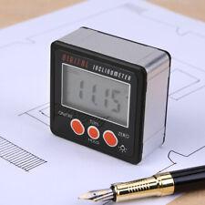 Digital 490inclinometer Level Box Protractor Angle Finder Bevel Gauge Magnet