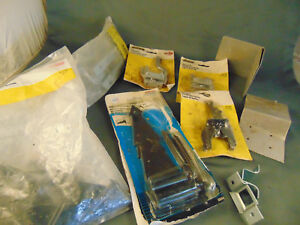 "Stanley Heavy Duty 8"" hinges SP1391 gate latches bolt black hinges National buil"