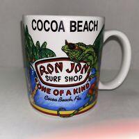 Ron Jon Surf Shop Coffee Mug Cocoa Beach Florida  Cup One Of A Kind