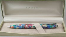 Levenger True Writer Carnaval & Chrome Ballpoint Pen - New In Box