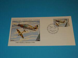 WWII FDC W14-2 Britain Hawker Hurricane Germany RAF * 50th Anniversary