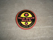 "OLD GUYS RULE BEER LABEL ""STILL CRAZY AFTER ALL THESE BEERS "" FABRIC PATCHES"