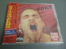 FEMS 10 YEARS ANNIVERSARY-VOICE OF FEMS Japan Promo 17 tracks CD,still sealed