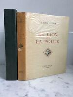 Sacha Guitry LeLion y la Gallina III Raoul Solar 1951