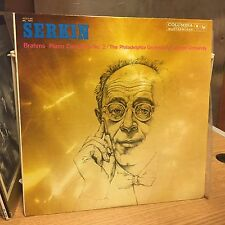 Serkin Brahms Piano Concerto No. 2 LP Columbia Sealed In Sleeve