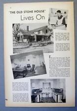 Original 1938 Farm Aricle Photo Endorsed Miss Ethel Cowles of Lawrence, Kansas