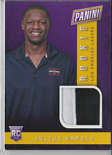 2014 PANINI NATIONAL VIP RC ROOKIE JERSEY RELIC JULIUS RANDLE