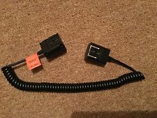 Godox 3 M TTL Off-Camera Hot Shoe Flash Sync Cordon Câble Pour Sony Caméra UK