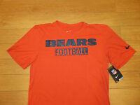 NWT Men's Nike Dri-Fit Team Chicago BEARS Football T-Shirt (Retail $32.00)