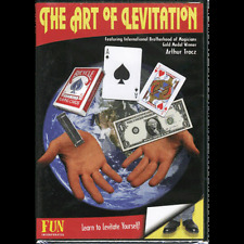 The Art of Levitation DVD by Artur Tracz brand new  magic cards floating tricks