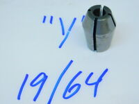 DT Style WW Used Double Taper Collet Drill Size #29