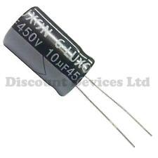 10uF 450V Electrolytic Radial Capacitor 105C