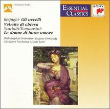 CD: RESPIGHI The Birds, Church Windows / Tommasini: The Good-Humored Ladies