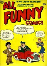Golden Age Funnies Comics on DVD; Magic Comics, All Funny and more!!