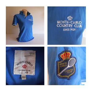 polo maillot t-shirt sport tennis Monte Carlo Country Club Monaco France N3639