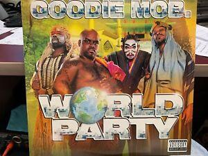 GOODIE MOB WORLD PARTY 2LP 1999 LAFACE 26064 DJ PROMO