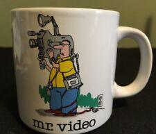 Jim Benton Mr Video Coffee Mug Vintage Retro Very Nice Condition Papel Funny