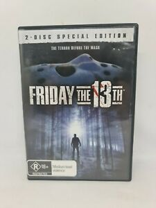 FRIDAY THE 13TH Special Edition DVD Region 4 Movie Very Good Condition