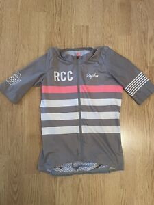 Rapha Women's RCC Soupless Aero Jersey - Grey - small - excellent condition