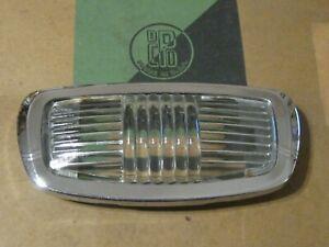 NOS Mopar 1942-1952 Plymouth Dome Lamp Lens, glass!