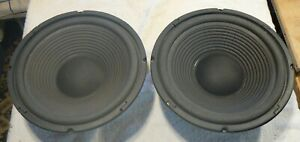 """Sound Lab 10"""" Bass Speaker Chassis x2, Cat No:10200, Used, Excellent Condition,"""