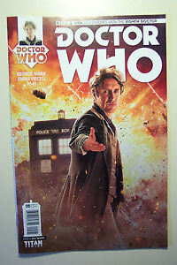 DOCTOR WHO TITAN COMICS 8TH DOCTOR #5 COVER B WILL BROOKS APRIL 2016