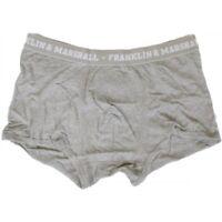 Franklin & Marshall 9076 Grey Melange Unisex Boxer