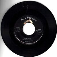 """JIM REEVES! - """"TWO SHADOWS ON THE WINDOW"""" B/W """" YOUNG HEARTS"""" VG VPI CLEANED"""