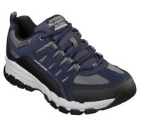Navy Skechers Shoes Men's Air 51585 EWW NVBK Wide Memory Foam Trail Hiking Sport