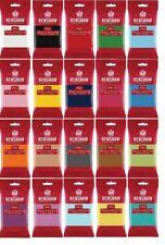 Rollfondant Renshaw 250g alle Farben Fondant für Motivtorten