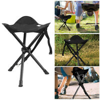 Outdoor Camping Fishing Folding Picnic Garden BBQ Seat Tripod Stool pipe Chairs