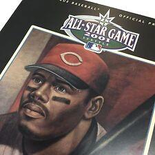MLB All Star Game 2001  Official Program HOF Ken Griffey Jr. Cover Reds Mariners