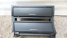 2001-2006 BMW E46 M3 ASHTRAY COMPARTMENT & UPPER STORAGE COMPARTMENT OEM 3605