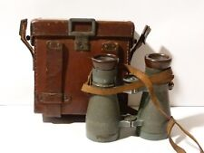 German WW1 G.P. Goerz Fernglas 08 89736 Military Binoculars in UNUSUAL Case #2 *