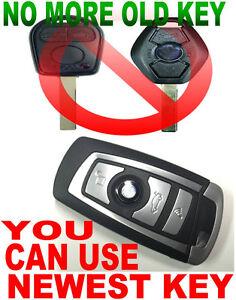 LATEST KEY DESIGN FLIP REMOTE FOR BMW VIRGIN CHIP NEVER USED TRANSPONDER FOB E6