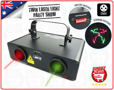 Stage Laser Party Light Show DMX512 Stunning Laser Patterns Red Green D-130