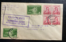 1935 Manila Philippines First Flight Cover FFC To Java Netherlands Indies