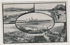 Wales postcard - Colwyn Bay (Multiview showing 5 views) - P/U 1929