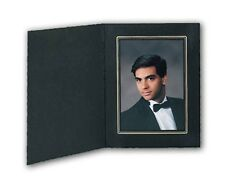 Tap Photo Folder Buckeye Black/Gold 7x5 (50 Pack) New