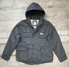Men's ONE TRUE SAXON Gray Jacket Windbreak Casual Size XXL