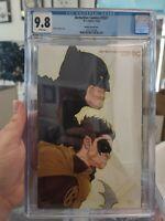 CGC 9.8 Detective Comics #1027 2020 Unread Frank Quitely Batman & Robin Variant
