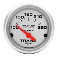 Autometer Ultra-Lite 52mm 100-250 Degree F Mechanical Transmission Temp Gauge