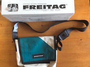 Freitag Tasche Lassie F11, Creme- türkis