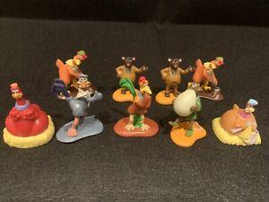 Chicken Run Figures - Dreamworks - 1999 - Collectables - 9 Pieces